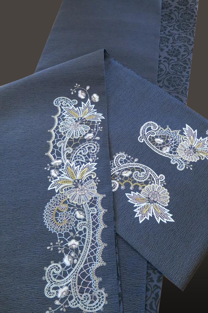 刺繍帯 蘇州刺繍